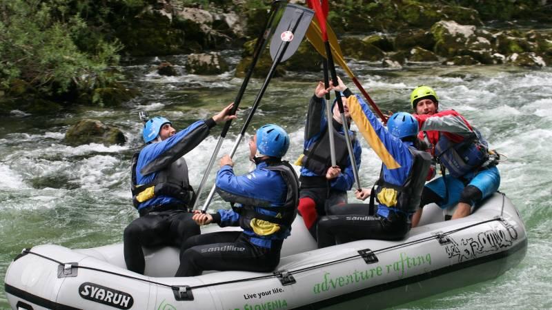 Rafting Sava Bohinjka | Adventure Rafting Bled
